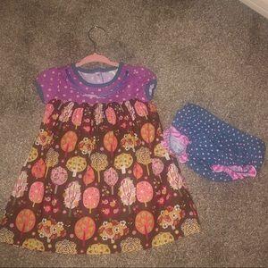 Matilda Jane dress with bloomers